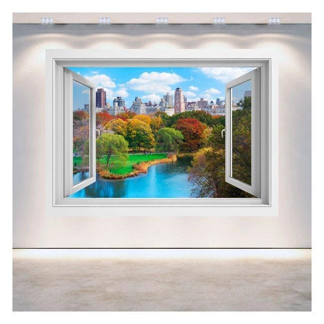 Windows 3D Central Park New York