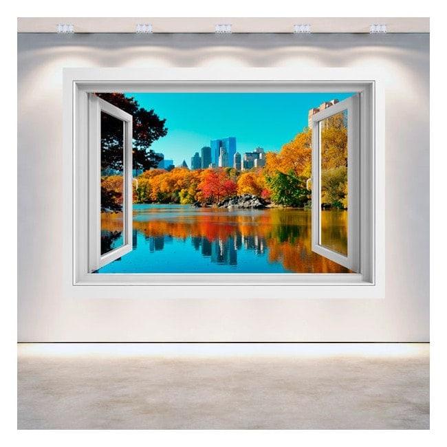 Fenêtre 3D Central Park New York