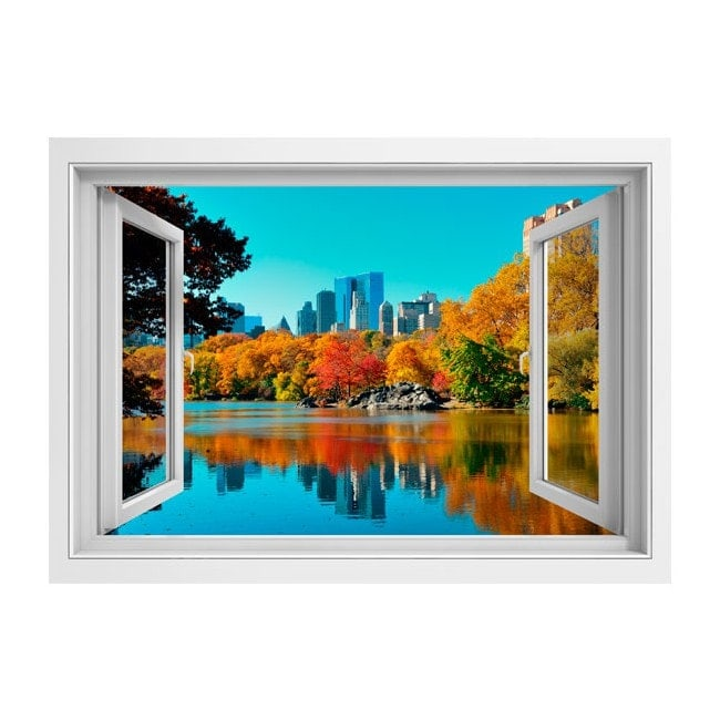 Fen tre 3d central park new york for Fenetre kpark