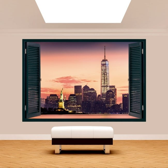 Windows 3D New York French 5067