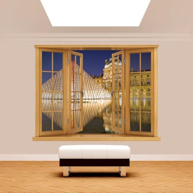 Windows 3D Paris Musée du Louvre