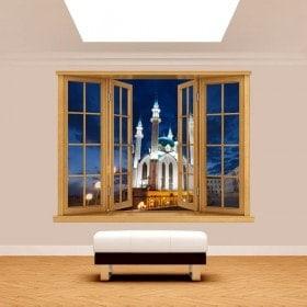 Windows 3D mosquée Qol Šari