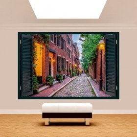 Rues de Boston 3D Windows