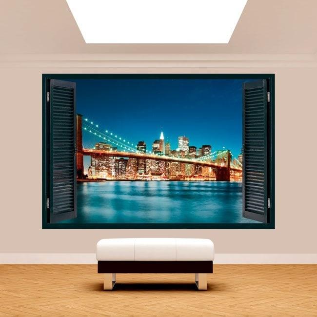 Fenêtre 3D New York City
