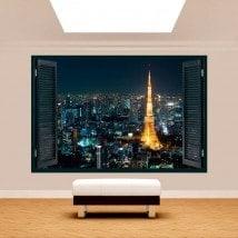Windows 3D Tokyo Japon