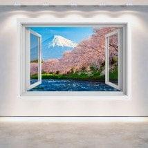 Fleur de cerisiers Mt. Fuji 3D Windows