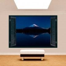 Windows 3D lac Kawaguchi et Mont Fuji
