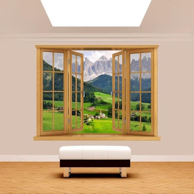 Montagne 3D Windows Funes Italie