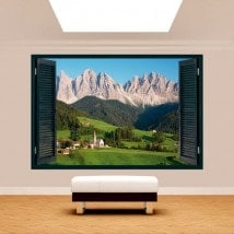 Montagnes des Dolomites 3D Windows Italie