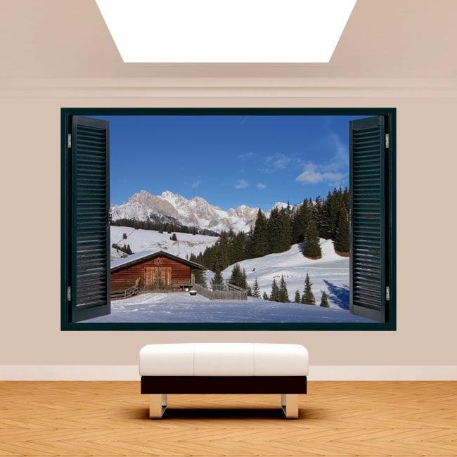 Montagne 3D Windows Alpes de Siusi Italie