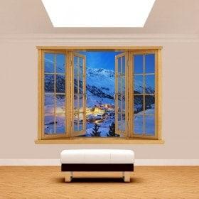 Montagne 3D Windows Alpes Autriche