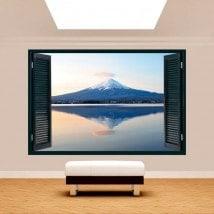 Windows 3D Mont Fuji lac Kawaguchi