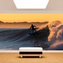 Murales de surf photo