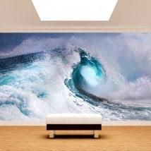 La vague de la mer Fotomural
