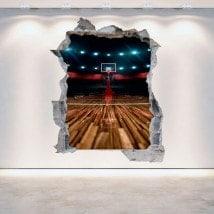 Vinyle de basket 3D