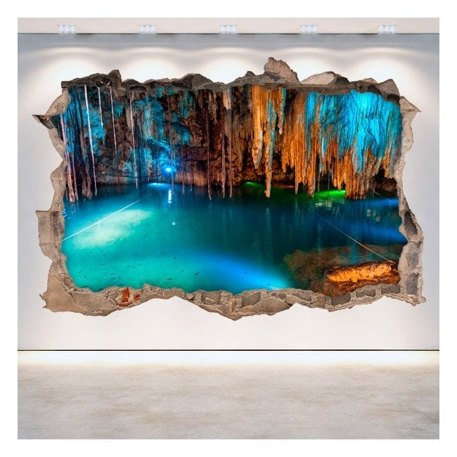 Vinyle cavernes et grottes 3D