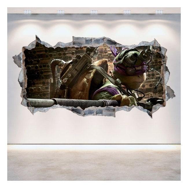 Vinyl 3D Donatello la tortue Ninja