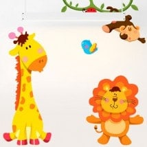 Vinyle pour enfants Kit animaux Zoo