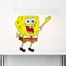 Autocollants en vinyle pour enfants SpongeBob SquarePants