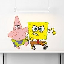 Pour enfants en vinyle SpongeBob et Patrick