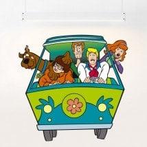 Vinyle de Scooby-Doo pour l'enfance