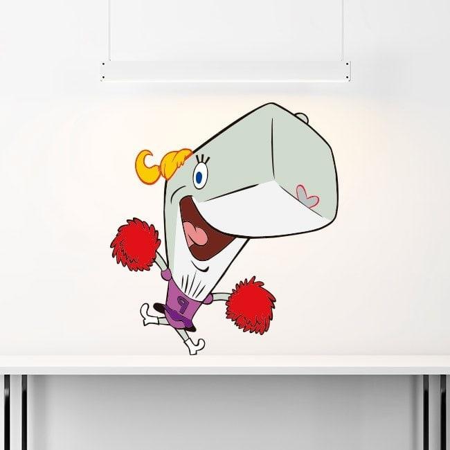 Autocollants pour enfants Sponge Bob Pearl Krabs