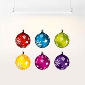 Boules de Noël de vinyle