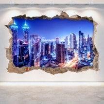 Nuit 3D vinyle Dubai