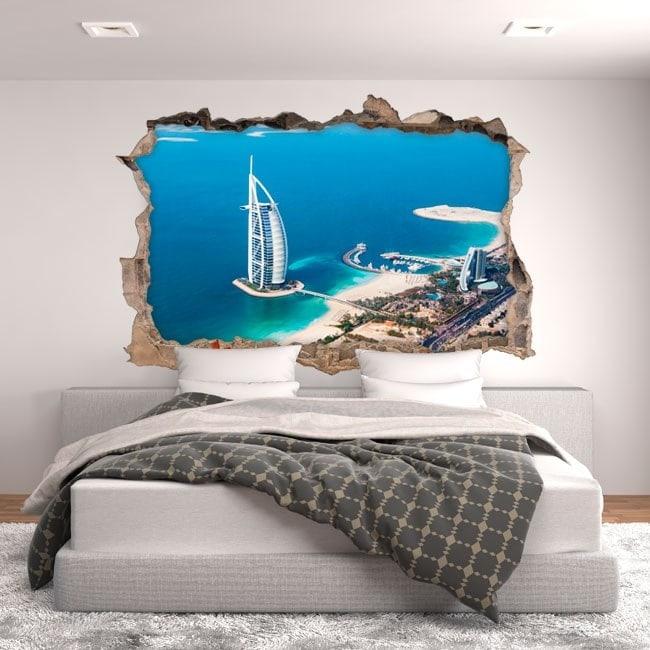 Vinyl 3D Dubai Burj al Arab