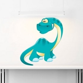 Dinosaure en vinyle pour enfants