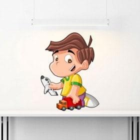 Vinyle pour enfants jeu enfant