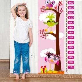 Mesurer les jours vinyle rose pour enfants