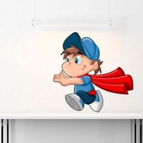 Vinyle de Superman enfant enfants