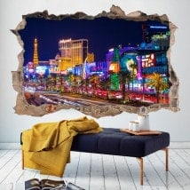 Vinyl 3D Las Vegas City
