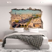 Vinyl 3D Paris French 5653