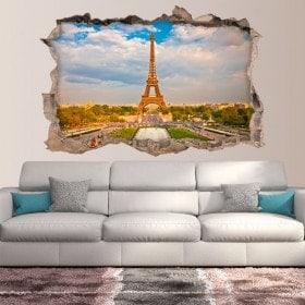 Vinyl 3D Paris Tour Eiffel
