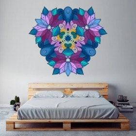 Vinyl mural Mandala