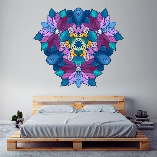 Vinyl mural Mandala French 5710