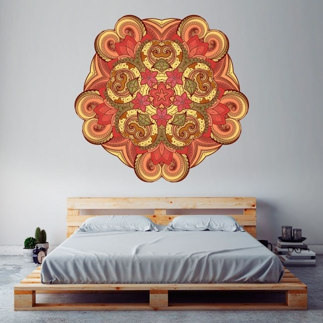 Mandalas des murs en vinyle