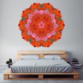 Mandalas de vinyle pour les murs