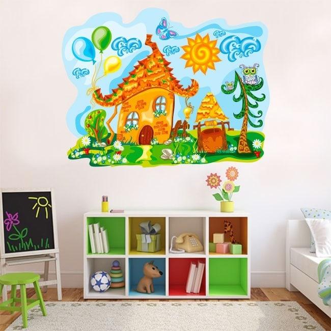 Nature pour enfants en vinyle House