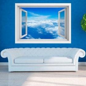 Nuages 3D Windows dans le ciel