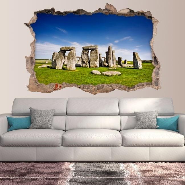 Vinyl 3D Stonehenge Angleterre