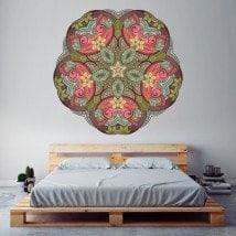 Vinyl mural Mandala French 5773