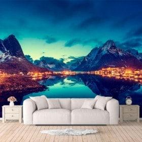Photos murales, îles de la Reine de Norvège