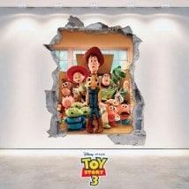 Enfant de vinyle Toy Story 3D