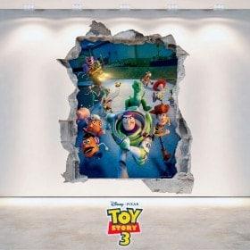 Toy Story 3 pour enfants en vinyle