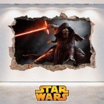 Star Wars autocollants 3D Kylo Ren