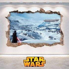Mur de vinyle Star Wars