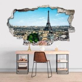 Vinyl 3D Tour Eiffel